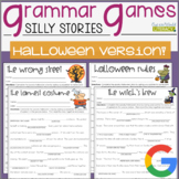 Grammar Games: Silly Stories for Halloween!