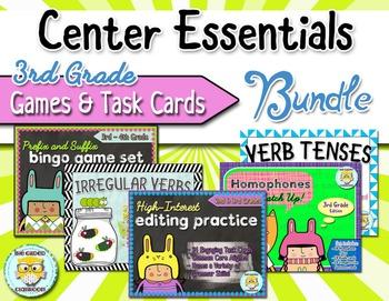 Grammar Games and Task Cards Bundle
