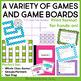 5th Grade Grammar Games Bundle Set 1    5th Grade Grammar Centers Set 1