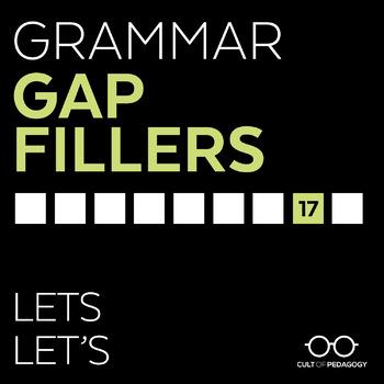 Grammar Gap Filler 17: Lets | Let's