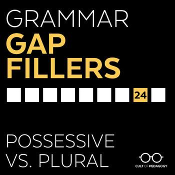 Grammar Gap Filler 24: Possessive vs. Plural