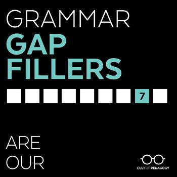 Grammar Gap Filler 7: Are | Our