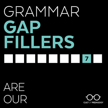 Grammar Gap Filler 7: Are | Our