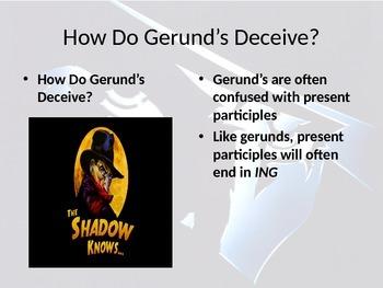 Grammar:  Gerund the Ulimate PowerPoint