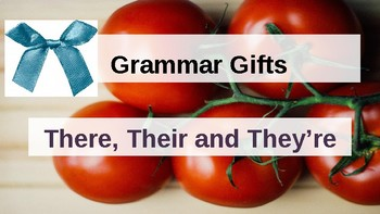 Grammar Gifts: There, Their and They're