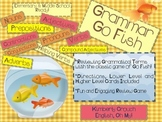 Grammar Go Fish-Reviewing Grammatical Terms with the Classic Game