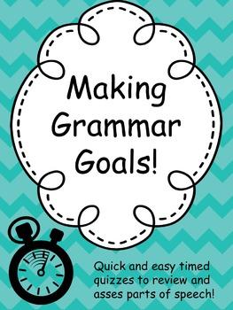 Grammar Goals: 12 Timed Drills to Review Basic Parts of Speech