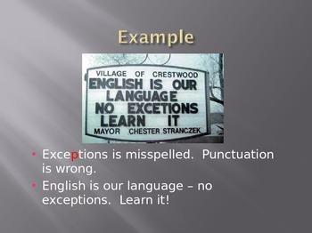 Grammar Goofs