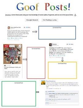 Grammar Goofs: Social Media Eddition!