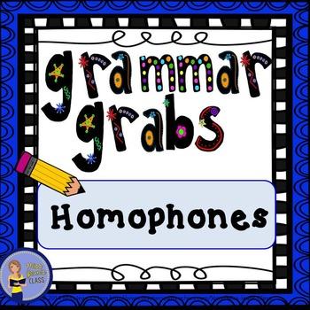 Grammar Grabs - Homophones
