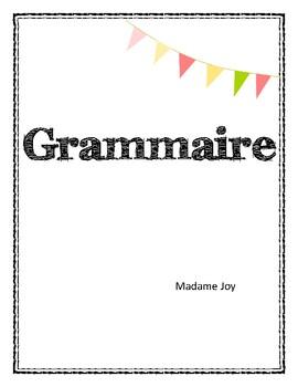 Grammar - Grammaire -
