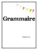 Grammar - Grammaire en français