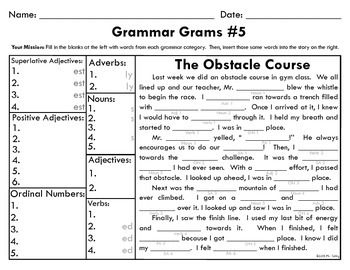 Grammar Grams #5: The Fun Way To Teach Grammar