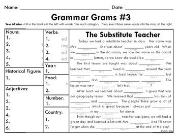 Grammar Grams (1-10): The Fun Way To Teach Grammar