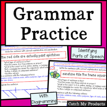 Grammar Review and Grammar Practice (Advanced) for The Promethean Board