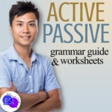 Active and Passive Grammar Guide and Worksheets