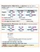 Grammar Guide Avancemos 2 U2 L1 ER/IR Preterite Demonstrative