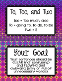 Grammar Guide Bulletin Board Printable Boho inspired