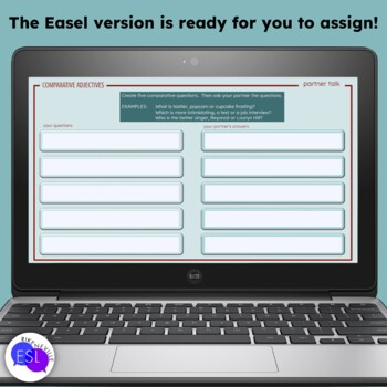 Comparative Adjectives: Grammar Guide with Worksheets