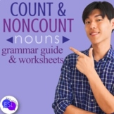 Count and Noncount Nouns Grammar Guide with Worksheets