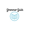 Grammar Guide Cover Page