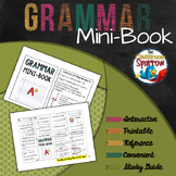 Grammar Usage Mini-Book (A Perfect Addition to an ELA Interactive Notebook)