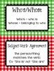 Grammar Guide Multi-Color Gingham Plaid
