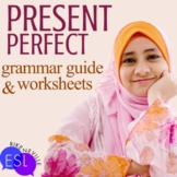 Present Perfect Grammar Guide with Worksheets