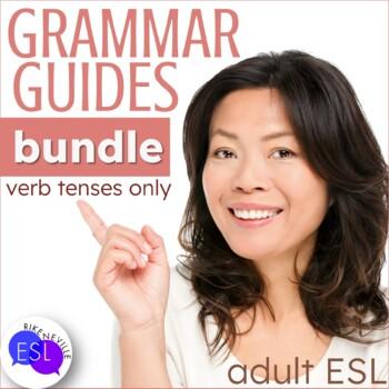 Grammar Guides for Verb Tenses BUNDLE