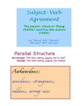 Grammar Guide Wall Page 3
