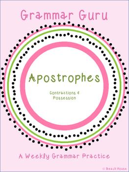 Grammar Guru - Apostrophes: Contractions & Possession