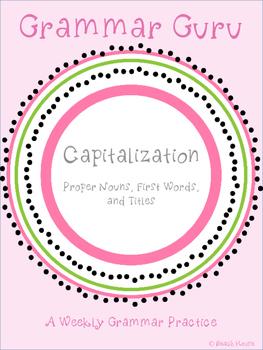 Grammar Guru - Capitalization