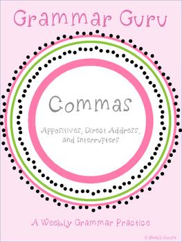Grammar Guru - Commas: Appositives, Direct Address, & Inte