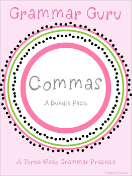 Grammar Guru - Commas Bundle Pack