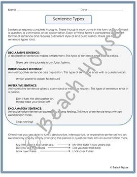 Grammar Guru - Declarative, Interrogative, Imperative, and Exclamatory Sentences