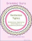 Grammar Guru - Declarative, Interrogative, Imperative, and