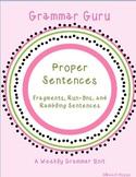 Grammar Guru - Fragments, Run-ons, and Rambling Sentences