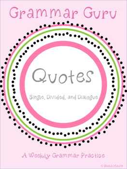 Grammar Guru - Quotes