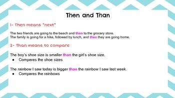 Grammar Help Sheets
