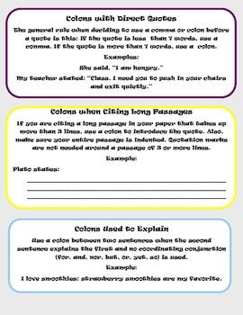 Grammar Helper: Colon Rules