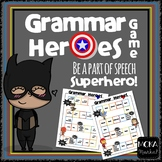 Grammar Heroes Game - Parts of Speech Review