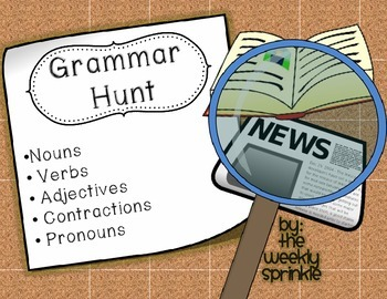 Grammar Hunt - Parts of Speech