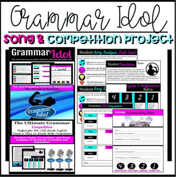 Grammar Idol Assessment Song and Competition Project