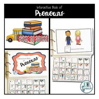 Grammar Interactive Book BUNDLE {BACK TO SCHOOL}