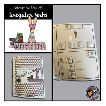 Grammar Interactive Book BUNDLE {WINTER SPORTS}
