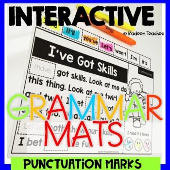 Grammar Interactive Mats- Punctuation Marks