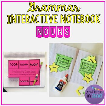Grammar Interactive Notebook: Nouns