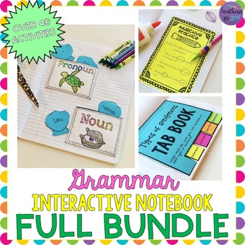 Grammar Interactive Notebook BUNDLE! (200+ pages!)