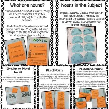 Grammar Interactive Notebook Bundle