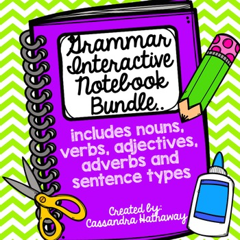 Grammar Interactive Notebook Bundle